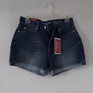 Levi's new high rise shorts